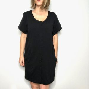 JONATHAN SAUNDERS Black Ponte Mini Dress